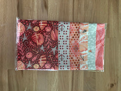 OMG Fat Quarter Bundle - Coral / Red