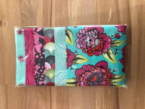 OMG Fat Quarter Bundle - Pink / Teal