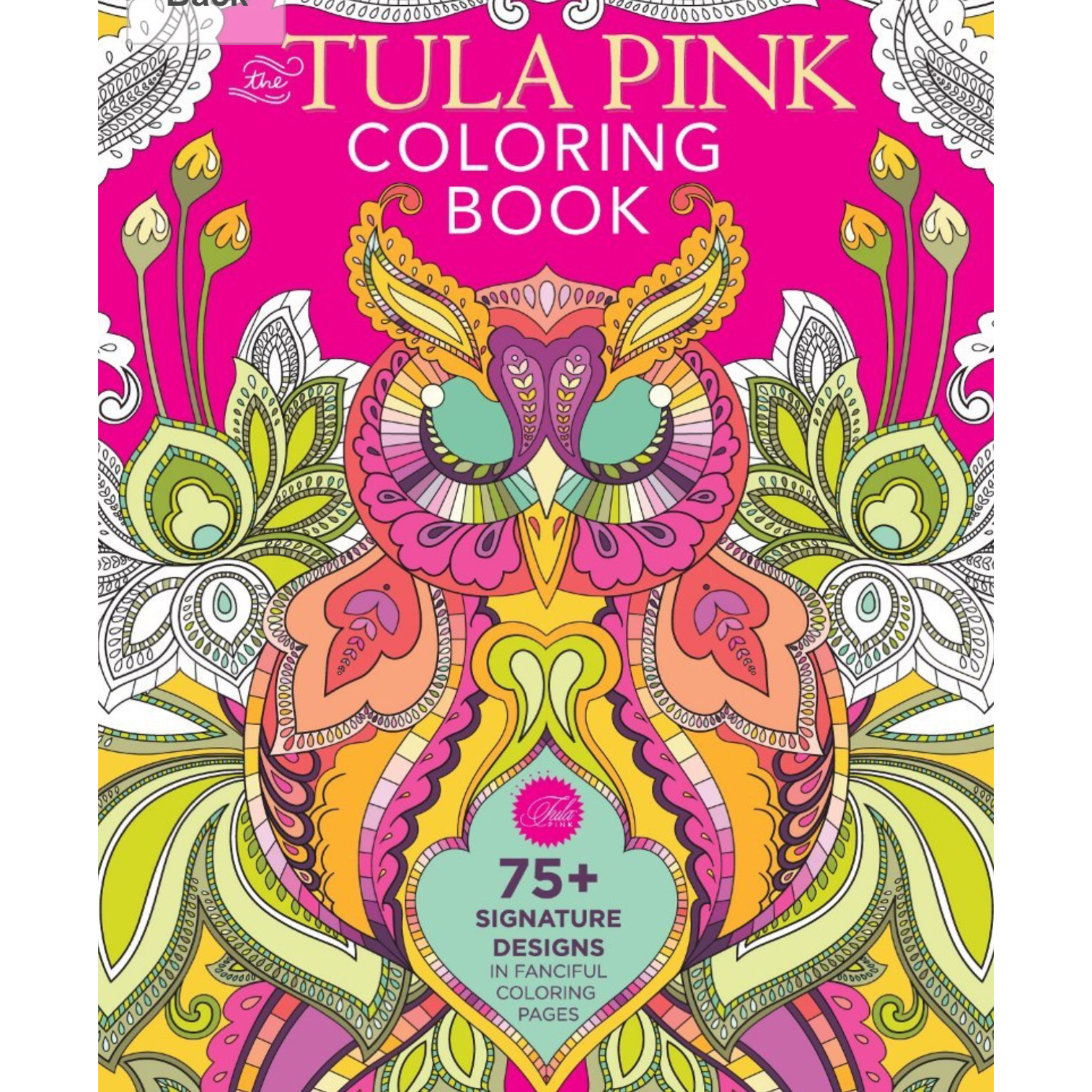 The tula pink coloring book -