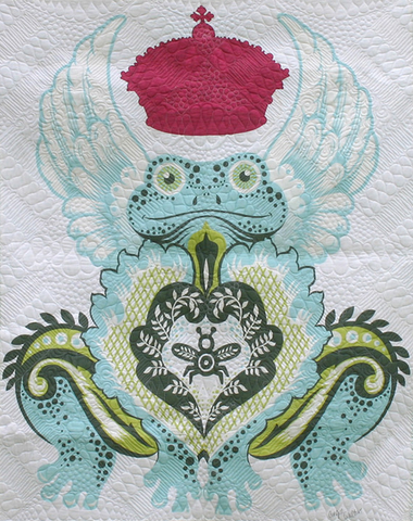 "54"" x 72"" Tula Pink Prince Charming Quilt Backing"