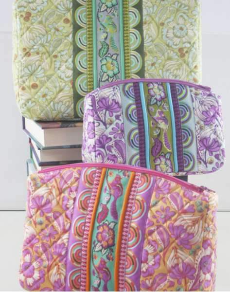 Filigree Double-Zip Pouches Pattern