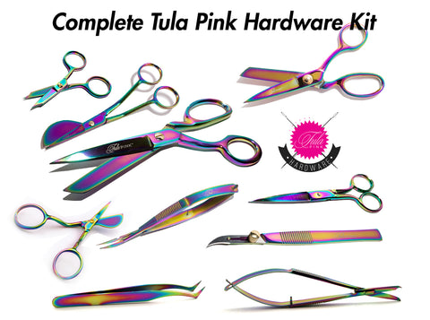 Tula Pink Hardware 10 Piece COMPLETE Set (Updated with 3 New Products!)