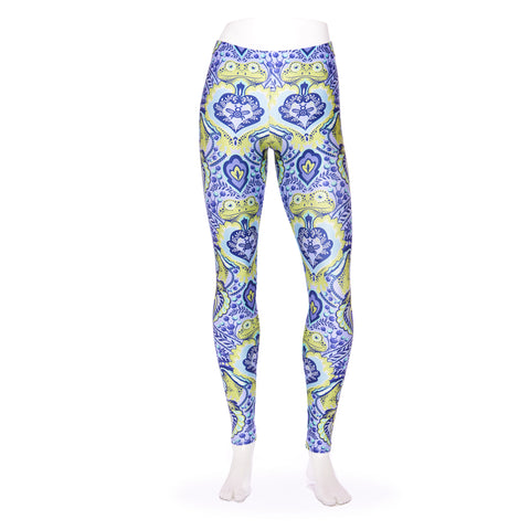 Frog Orchid Tiled Queen West Leggings