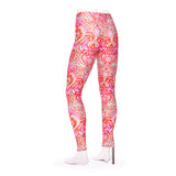 Frog Peony Tiled Kid's Leggings