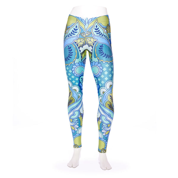 Owl Forget Me Not Queen West Leggings