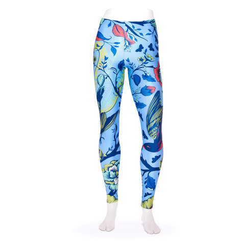 Tail Feathers Lupine Queen West Leggings