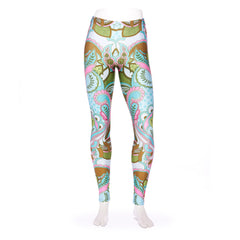 Full Moon Owl Queen West Leggings