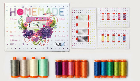 Tula Pink HomeMade x Aurifil Thread Collection - 14 spools!