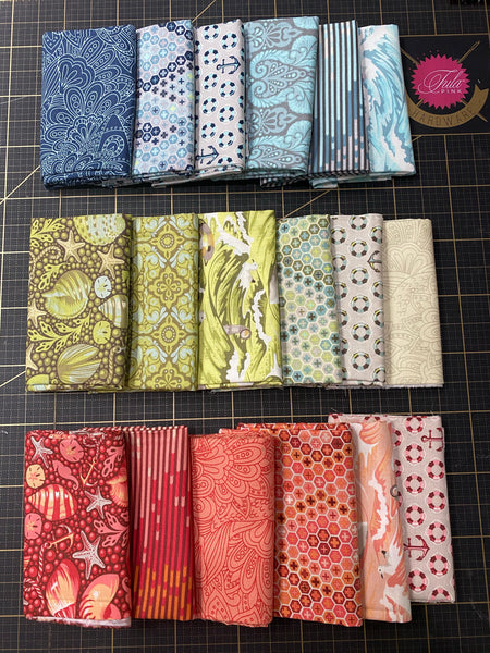 Salt Water Fat Quarter Colorway Bundle