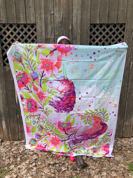 "54"" x 72"" Tula Pink Pinkerville Quilt Backing"