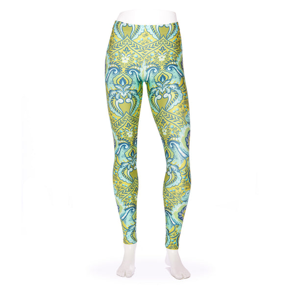 Frog Myrtle Tiled Kid's Leggings