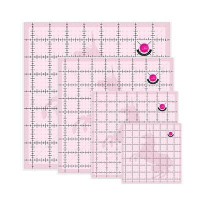 Tula Pink Hardware Non-Slip Unicorn Quilting Ruler Set