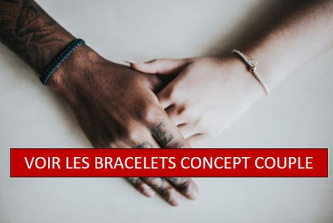signification bracelet couple distance