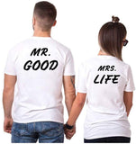 T-shirt Couple Mr Mrs