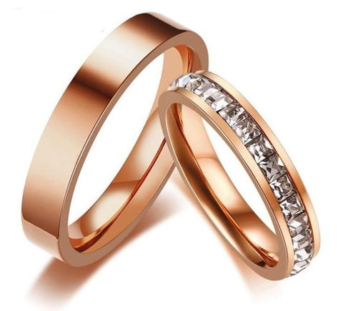 Bague Couple 10 Pierres | Concept Couple