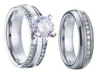 Bague Couple Diamant | Concept Couple