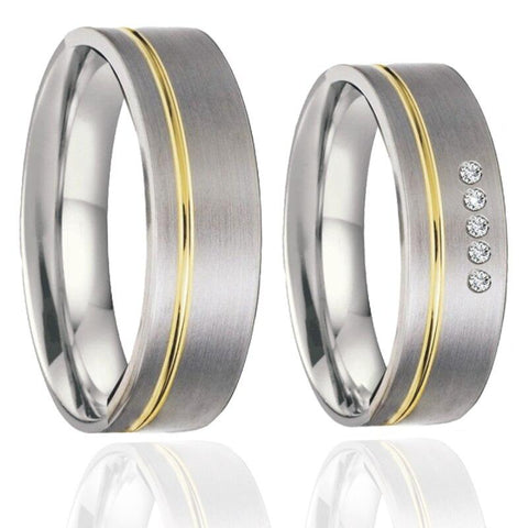 Bague Couple Pulsion | Concept Couple