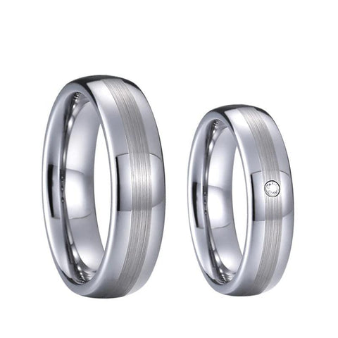 Bague Couple Tugstene | Concept Couple