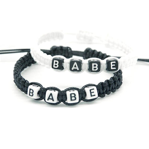 Bracelet Couple Babe | Concept Couple
