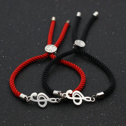 Bracelet Couple Cordon Artiste | Concept Couple