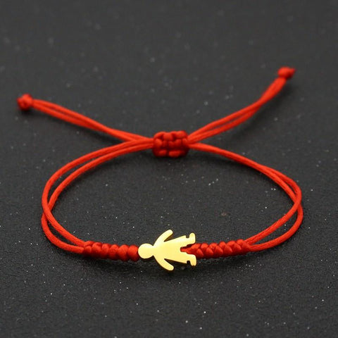 Bracelet Couple Cordon Bonhomme | Concept Couple