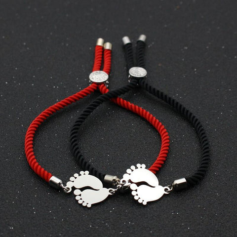 Bracelet Couple Cordon Enfant | Concept Couple