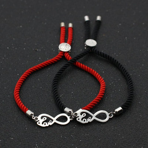 Bracelet Couple Cordon Love Much | Concept Couple