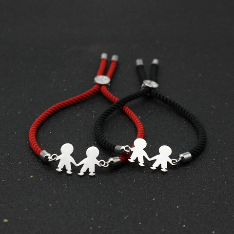 Bracelet Couple Cordon Marié | Concept Couple