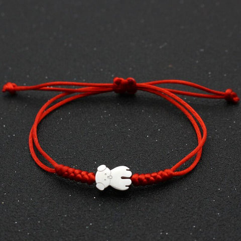 Bracelet Couple Cordon Nounours | Concept Couple