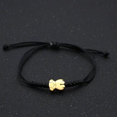 Bracelet Couple Cordon Peluche | Concept Couple