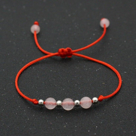 Bracelet Couple Cordon Perle | Concept Couple