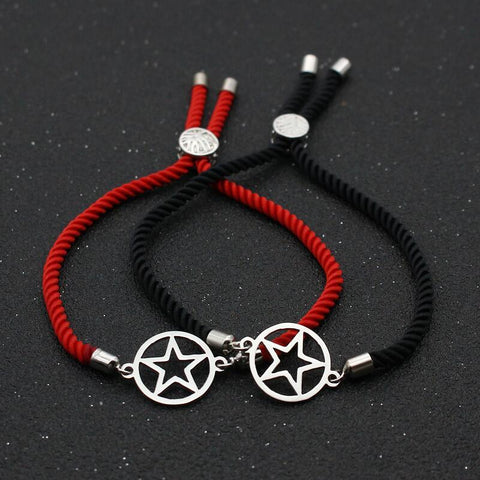 Bracelet Couple Cordon Star | Concept Couple