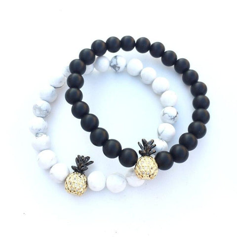 Bracelet Couple Distance Ananas | Concept Couple