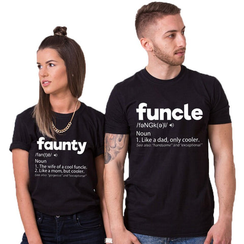 T-Shirt Couple Correspondant