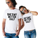 t shirt homme en couple