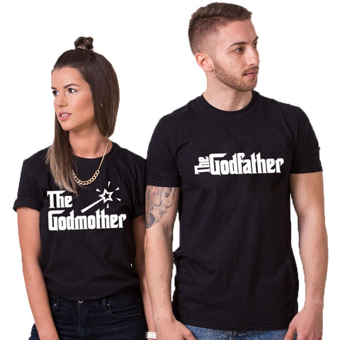 T-Shirt Couple Parrain Marraine