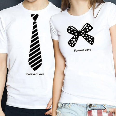 T-Shirt Couple Costumes