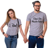 T-Shirt Couple Mickey Minnie