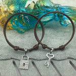 Bracelet Cadenas Couple rouge