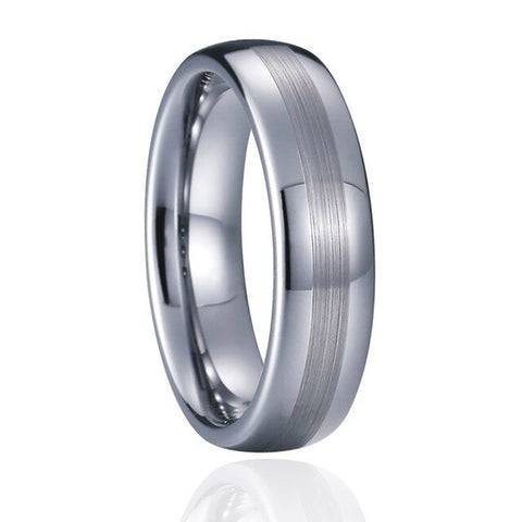 Bague homme Tugstene