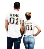 T-Shirt Couple Règne | Concept Couple