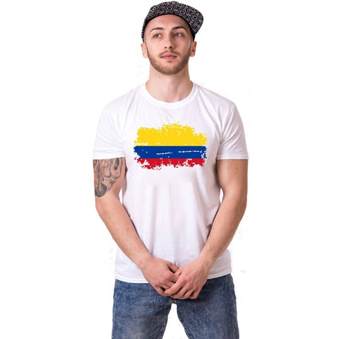 T-shirt Couple Colombie homme