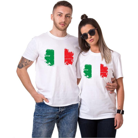 T-shirt Couple Italie | Concept Couple
