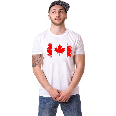 T-shirt Couple Canada homme