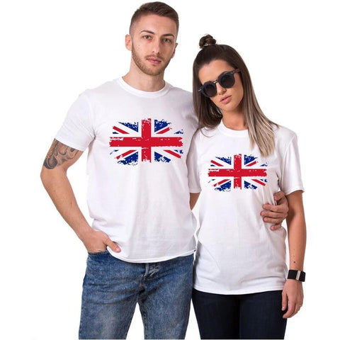 T-shirt Couple Angleterre | Concept Couple