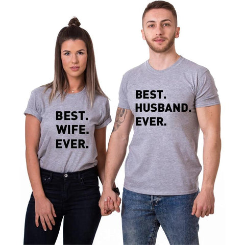 T-shirt Couple The Best | Concept Couple