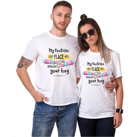 T-shirt Couple Calin | Concept Couple