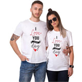 T-shirt Couple Au Quotidien | Concept Couple