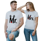 T-Shirt Couple Corne | Concept Couple
