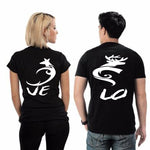T-Shirt Couple Traditionnel  | Concept Couple
